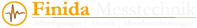 Logo von Finida Messtechnik Messdienstleistungen Schwingungsmesstechnik Akustik und NVH akustische Qualitätsprüfung